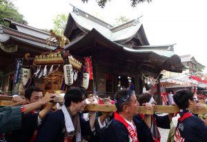 師岡熊野神社「夏祭り(祭礼)」(宵宮=よいみや)※前夜祭 @ 師岡熊野神社