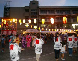 大豆戸小学校「第32回盆踊り大会」(大豆戸町内会・大倉山ハイム) @ 大豆戸小学校